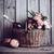 деревенский · натюрморт · свежие · природного · розовый · роз - Сток-фото © manera