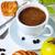 breakfast coffee and pastries closeup stock photo © manera