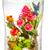mesterséges · virágcsokor · váza · fából · készült · vízszintes · képzelet - stock fotó © manfredxy