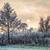 tél · nap · ködös · tájkép · köd · jeges - stock fotó © manfredxy