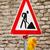 voorzichtigheid · teken · bouwplaats · bouw · straat - stockfoto © manfredxy
