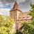 исторический · кладбище · средневековых · город · свет · крест - Сток-фото © manfredxy