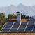 berg · zonnepaneel · klein · huis · dak · gebouw - stockfoto © manfredxy