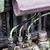 detalle · rojo · puerta · principal · salpicadero - foto stock © manfredxy