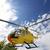 vliegen · Geel · redding · helikopter · blauwe · hemel · hemel - stockfoto © manfredxy