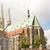 evangélikus · templom · Európa · Németország · tájkép · építészet - stock fotó © manfredxy