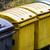 зеленый · мусорный · ящик · белый · пластиковых · закрыто · сумку - Сток-фото © manfredxy