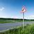 verkeersbord · weg · waarschuwing · hemel · landschap · symbool - stockfoto © manfredxy