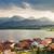 casa · lago · alpes · montanhas · alpino · Alemanha - foto stock © manfredxy