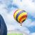 balão · de · ar · quente · festival · quente · ar · céu · esportes - foto stock © manfredxy