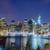 Manhattan Skyline at Night stock photo © marco_rubino
