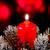 karácsony · gyertya · tűz · tél · labda · piros - stock fotó © Marcogovel