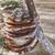 gesztenye · liszt · palacsinták · túró · sajt · toszkán - stock fotó © marcoguidiph