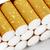 caixa · cigarros · para · cima · preto · isolado - foto stock © marekusz