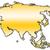 Asia outline map stock photo © marekusz