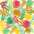 leaves seamless pattern   illustration stock photo © margolana