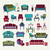 Vector Collection  of icons set Interior  design elements. stock photo © Margolana