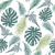tropical trendy seamless pattern with exotic plant leaves stock photo © margolana