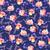 azul · rosa · folhas · verdes · preto · flor · jardim - foto stock © margolana