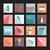 establecer · pelo · peine · iconos · silueta · estilo - foto stock © margolana