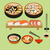 vettore · alimentare · cibo · giapponese · japanese · piatti · sushi - foto d'archivio © margolana