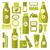 flessen · vloeibare · zeep · lotion · spa - stockfoto © margolana