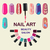 Nails art beauty salon background  stock photo © Margolana