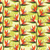 pattern with bird of paradise flower   tropical plan stock photo © margolana