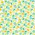 pattern with lime lemon and orange slices stock photo © margolana