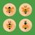 abelha · mel · vetor · favo · de · mel · reflexão - foto stock © margolana