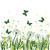 zöld · fű · pillangók · kamilla · virágok · pillangó · tavasz - stock fotó © margolana
