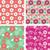 abstrato · floral · padrão · flores · borboleta - foto stock © margolana