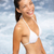 bikini woman happy getting out of water stock photo © maridav