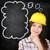 peinzend · vrouwelijke · bouwvakker · gebouw · pen · industrie - stockfoto © maridav
