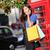glimlachend · jonge · asian · vrouw · praten · telefoon - stockfoto © maridav