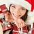 christmas gifts santa woman shopping stock photo © maridav