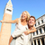 Romantic couple in love having fun in Venice stock photo © Maridav