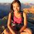 hiking woman portrait stock photo © maridav
