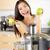 野菜 · ジュース · ローフード · 健康 · 女性 · 健康的な食事 - ストックフォト © maridav