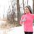winter jogging   woman runner running in cold air stock photo © maridav