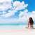 beach vacation dream woman enjoying summer holiday stock photo © maridav