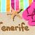 mulher · praia · tenerife · canárias · Espanha · água - foto stock © maridav