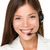 female call center operator stock photo © maridav
