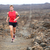 Trail runner - running man stock photo © Maridav