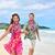 aloha · çift · plaj · Hawaii · portre - stok fotoğraf © maridav
