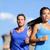 çalışma · çift · jogging · New · York · eğitim · New · York - stok fotoğraf © maridav
