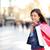 女性 · ショッピング · 買い物客 · 少女 · 屋外 · 笑みを浮かべて - ストックフォト © Maridav