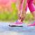 捻挫 · を実行して · スポーツ傷害 · 女性 · ランナー · クローズアップ - ストックフォト © maridav