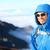hiker man trekking portrait stock photo © maridav
