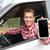 smartphone man in car driving showing smart phone stock photo © maridav